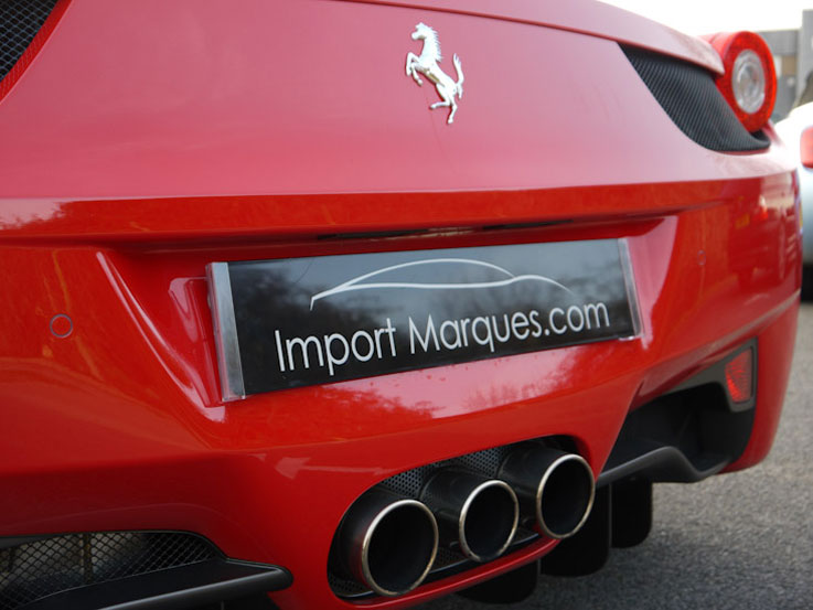 ferrari 458 italia import export vehicle 9