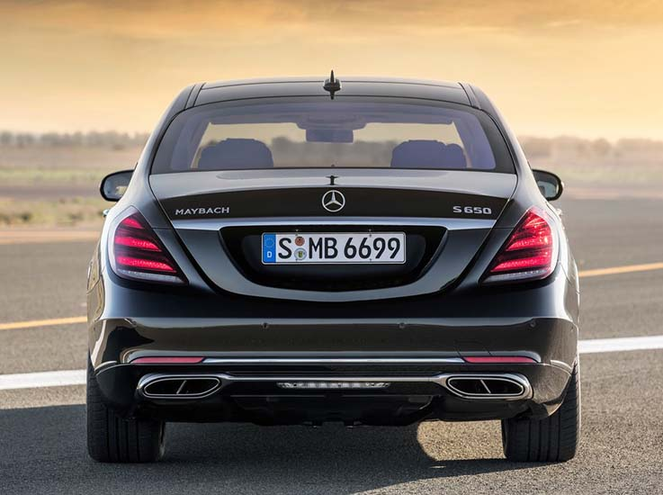 Mercedes Maybach S-Class Mercedes Maybach S 650 4