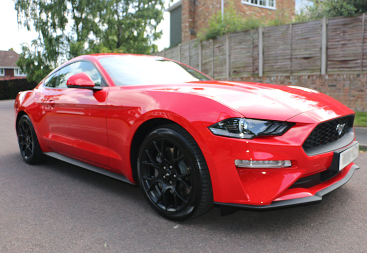 import export ford mustang gt ecoboost tax free
