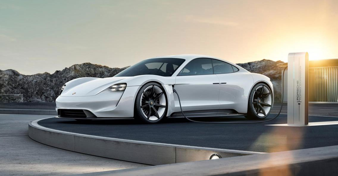 The First Porsche All-Electric Car - The Taycan