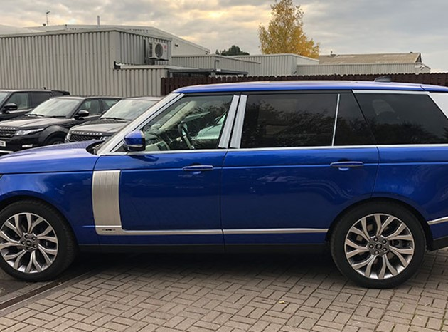Range Rover P400e Plug-In Electric Vehicle