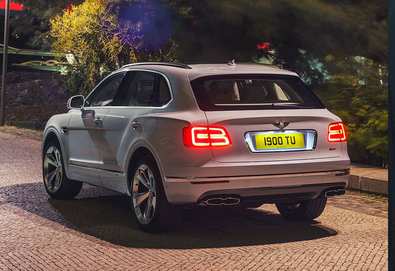 Bentley Bentayga Bentley Bentayga Hybrid 4