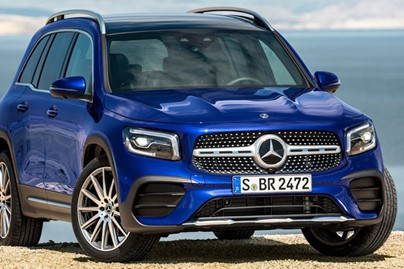 Mercedes Benz GLB import