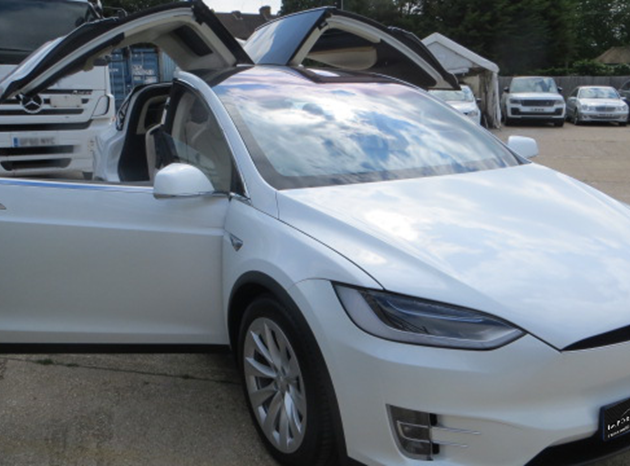 Tesla Model X - Car import