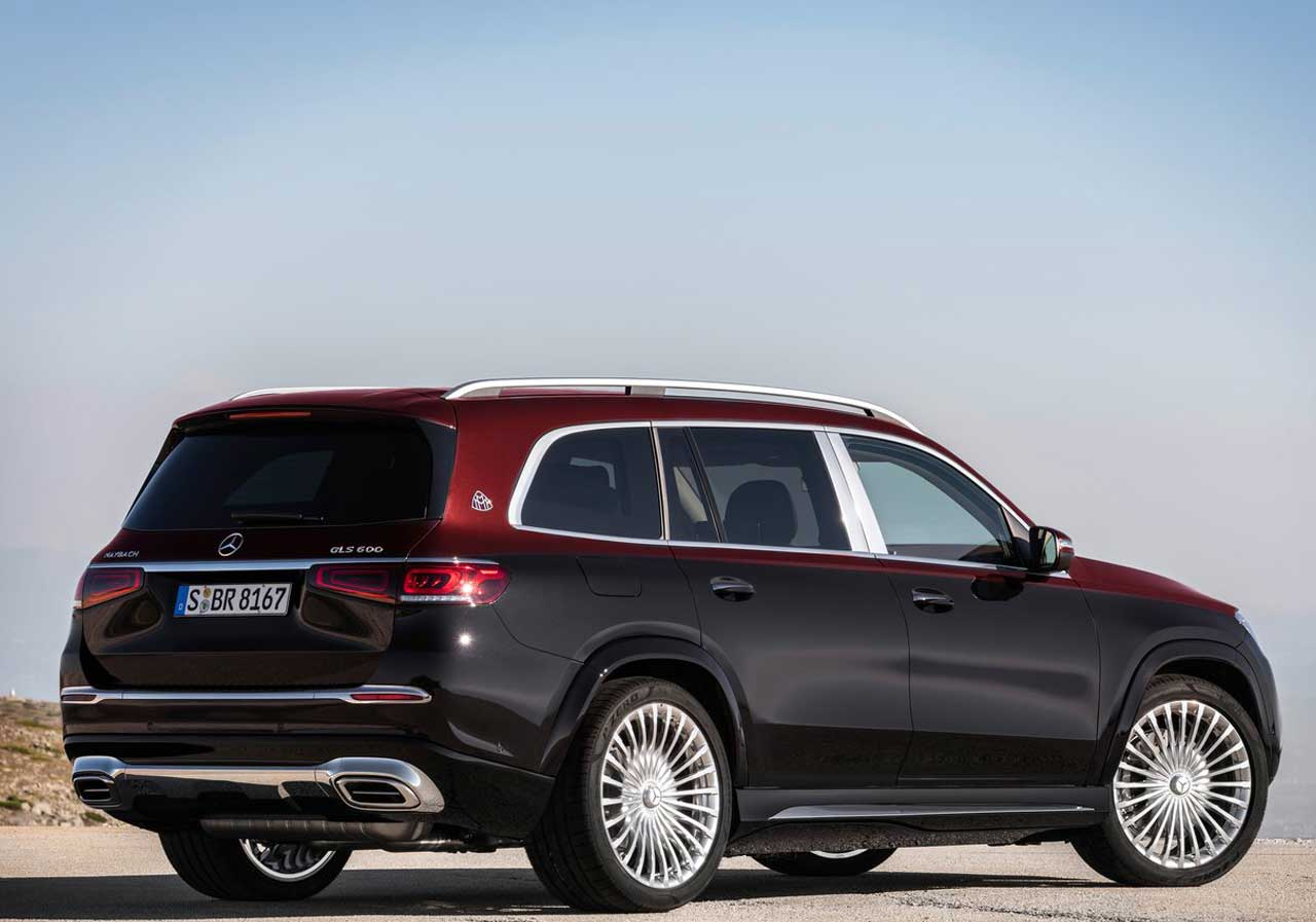 Mercedes-Benz Maybach S-Class Mercedes-Benz GLS 600 Maybach 2
