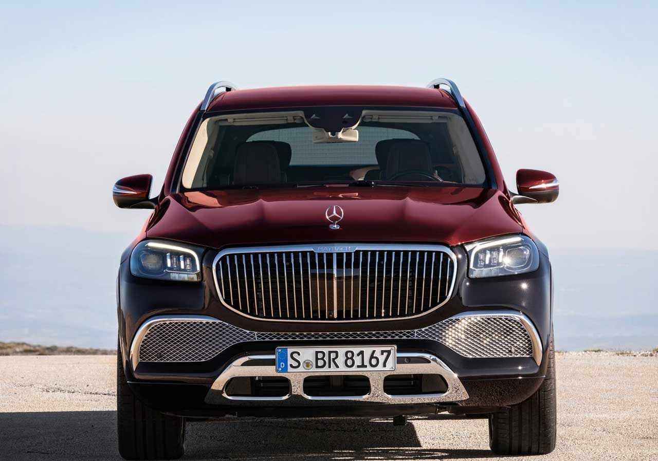 Mercedes-Benz Maybach S-Class Mercedes-Benz GLS 600 Maybach 3